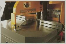 Upcut precision saws for aluminum profiles