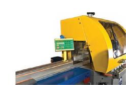 PMI Saw with TigerStop Pusher System