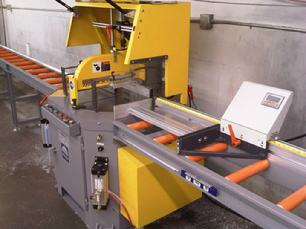 5' to 20' infeed & outfeed roller conveyors available with manual or digital length stop.