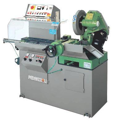 Automatic circular coldsaw machine for cutting stainless, steel, & aluminum