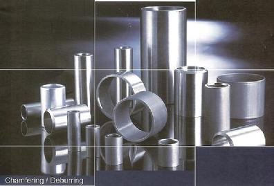 Complete solution for the tube and pipe chamfering/deburring, single end or double tube ends chamfering machines