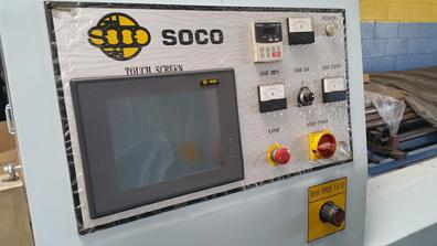 Circular sawing machine automatic operation for full time production saw cutting with rack loading magazine Soco SA-60-CNC