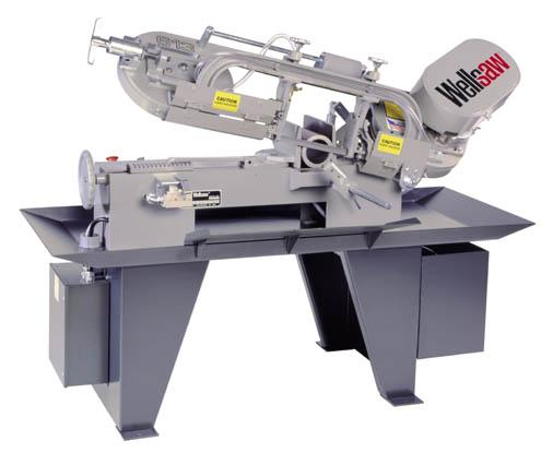 Wellsaw 613 Big saw power in a smaller saw footprint. Rugged Wellsaw quality. Designed for years of hard use. When you need the best not the biggest.