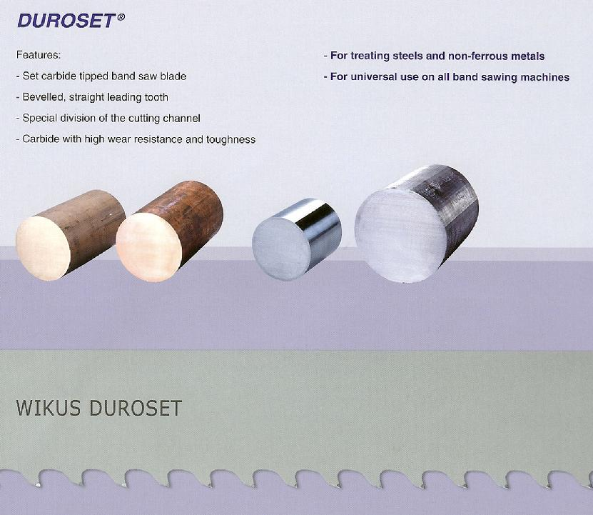 duroset carbide tip